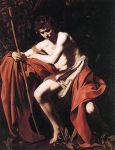 John the Baptist, Caravaggio 1604